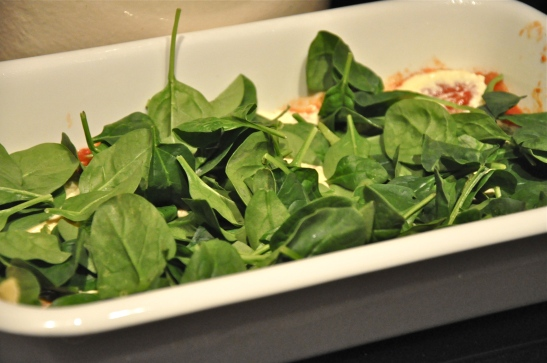 Throw some spinach in there to sneak in some nutrition (Rachel Nania)