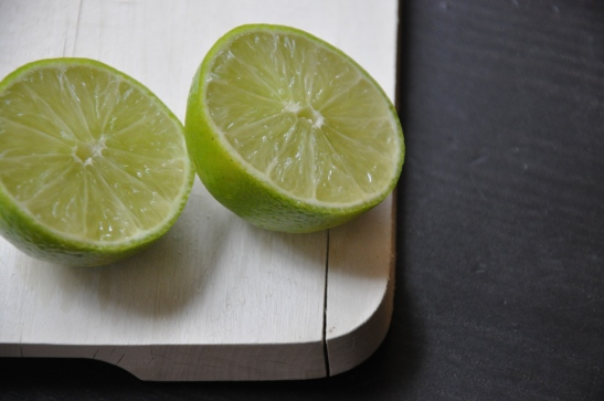 Lime juice adds a sharp and fresh twist.